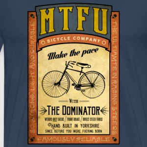 Cycling T Shirt - MTFU Bicycle Company - Men's T S - Men's Premium T-Shirt