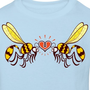 Beautiful wasps irremediably falling in love Shirts - Kids' Organic T-shirt