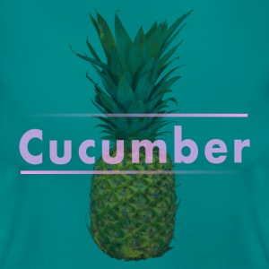 Shirt Women Pineapple Cucumber - Frauen T-Shirt