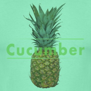 Shirt Men Pineapple Cucumber - Männer T-Shirt
