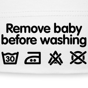 Remove baby before washing Baby Cap - Baby Cap