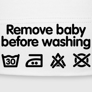 Remove baby before washing Babylue - Babys lue