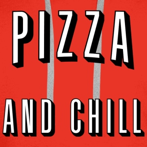 Pizza and chill Sweaters - Mannen Premium hoodie