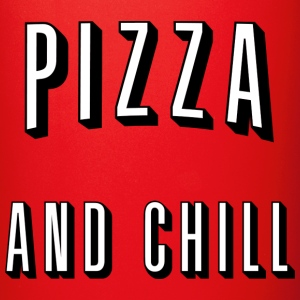 Pizza and chill Krus & tilbehør - Ensfarvet krus