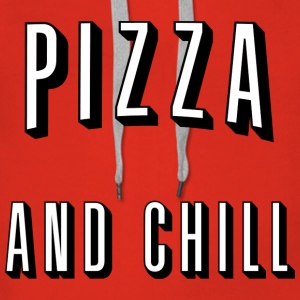 Pizza and chill Pullover & Hoodies - Frauen Premium Hoodie