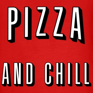 Pizza and chill Long Sleeve Shirts - Teenagers' Premium Longsleeve Shirt