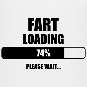 Fart Loading - Humor - Funny - Joke - Friend T-shirts - Børne premium T-shirt