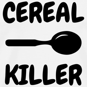 Cereal Killer - Humor - Funny - Joke - Friend T-shirts - Premium-T-shirt herr
