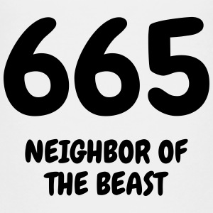 665 The Beast - Humor - Funny - Joke - Friend T-Shirts - Teenager Premium T-Shirt