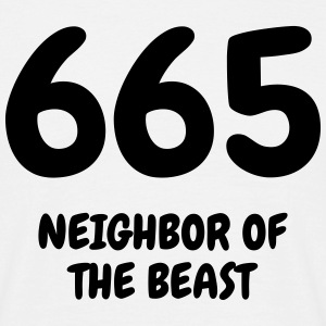 665 The Beast - Humor - Funny - Joke - Friend T-shirts - Herre-T-shirt