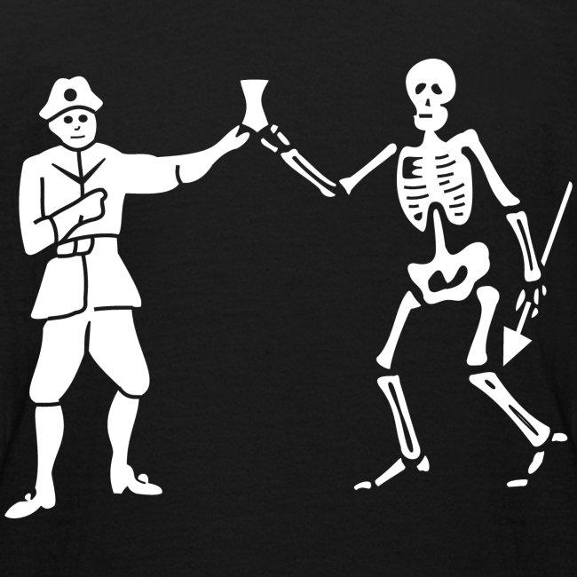 "Tee shirt Ado ""Roberts Bartholomew Flag v1"""