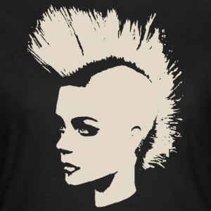 Punk Girl – creme-white - Frauen T-Shirt