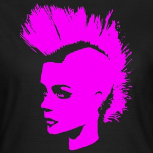 Punk Girl – pink - Frauen T-Shirt