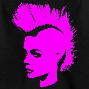 Punk Girl – pink - Teenager T-Shirt