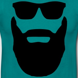 Beard and Sunglasses T-Shirts - Men's T-Shirt