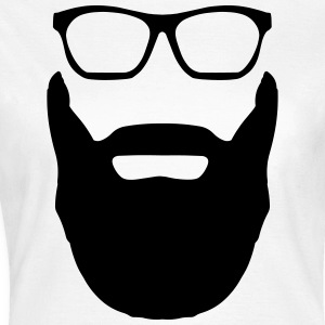 Beard And Glasses T-Shirts - Women's T-Shirt