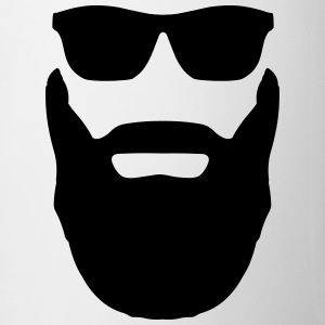 Beard and Sunglasses Mugs & Drinkware - Mug