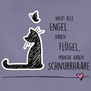 CAT ANGEL T-Shirts - Frauen Premium T-Shirt
