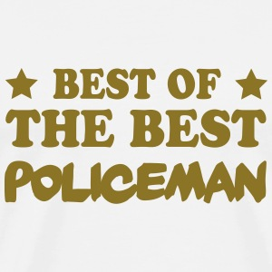 Best of the best policeman T-Shirts - Men's Premium T-Shirt