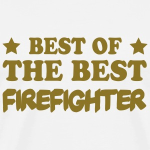 Best of the best firefighter Camisetas - Camiseta premium hombre