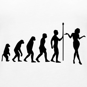 THE EVOLUTION OF WOMEN! Tops - Women's Premium Tank Top