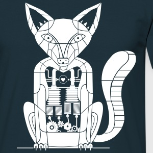 Mechanical fox - Men's T-Shirt