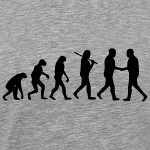 BUSINESS EVOLUTION! T-shirts - Mannen Premium T-shirt