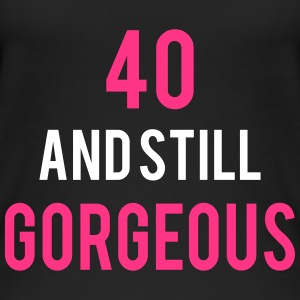40 stillgorgeous birthday Tops - Frauen Bio Tank Top