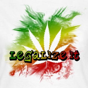 Legalize it T-Shirts - Frauen T-Shirt