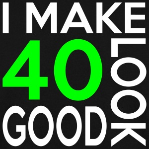40 look good birthday Pullover & Hoodies - Männer Pullover