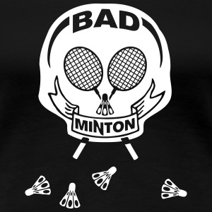 Bad Minton BS T-Shirts - Frauen Premium T-Shirt