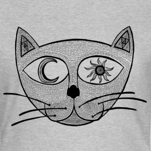 Heavens Cat T-shirts - Dame-T-shirt