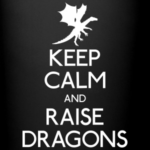 Keep calm dragons Mugs & Drinkware - Full Colour Mug
