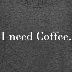 I need coffee Topy - Tank top damski Bella