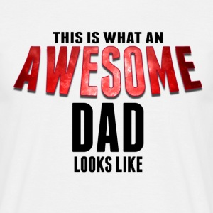 Awesome Dad Mens - Men's T-Shirt