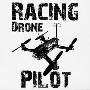 Racing Drone Pilot - Mousepad (Querformat)