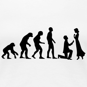 EVOLUTION OF MARRIAGE! T-Shirts - Women's Premium T-Shirt