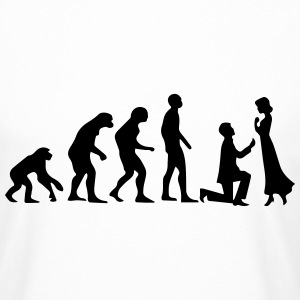 EVOLUTION OF MARRIAGE! T-Shirts - Men's Long Body Urban Tee