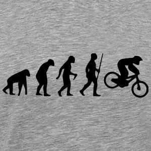 MOTORCROSS EVOLUTION T-Shirts - Men's Premium T-Shirt