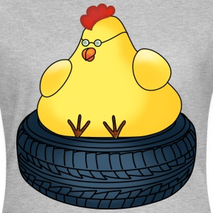 Sitting chicken t-shirt for women - Women's T-Shirt