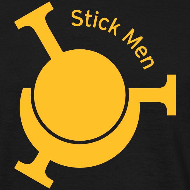 """Stick Men """"Trio"""" Logo"""