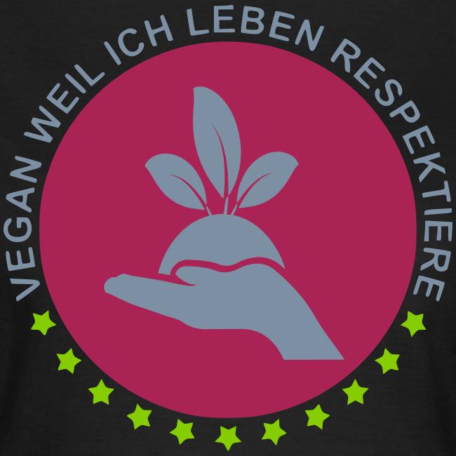 VEGAN - Silber-Glanz