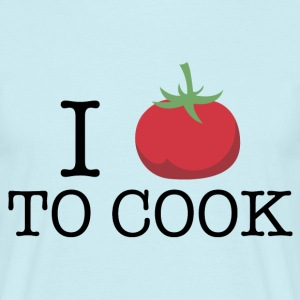 i_love_to_cook_06201602 T-Shirts - Männer T-Shirt