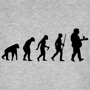 FAST FOOD EVOLUTION! T-Shirts - Männer Bio-T-Shirt