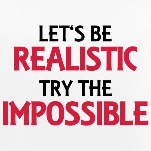 Let's be realistic - Try the impossible Sportbekleidung - Frauen Tank Top atmungsaktiv