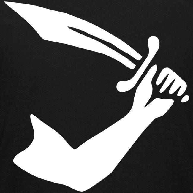 """Tee shirt Ado """"Thomas Tew Flag"""""""