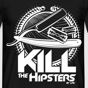 Kill the hipsters Tee shirts - T-shirt Homme