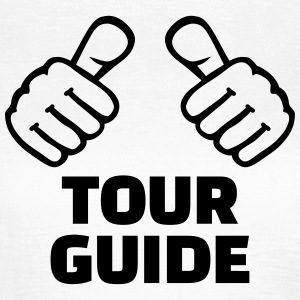 Tour guide T-Shirts - Frauen T-Shirt