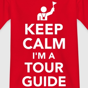 Tour guide T-Shirts - Kinder T-Shirt