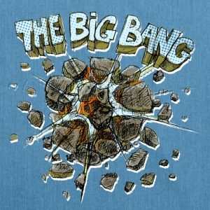 the big bang - Schultertasche aus Recycling-Material
